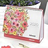 Calendario Takenote Flores - Calendario sobremesa 2020-29 x 21cm