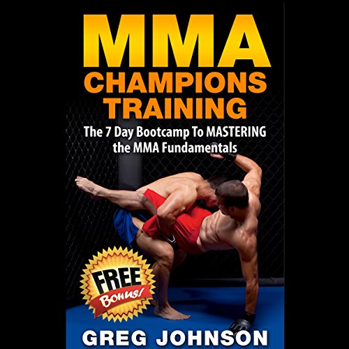 MMA Champions Training audiobook cover art
