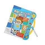 Annjom Livre électronique pour Enfants, Livre électronique Intelligent et sûr, Russe Anglais Garçons pour Enfants Filles Enfants(Yellow)