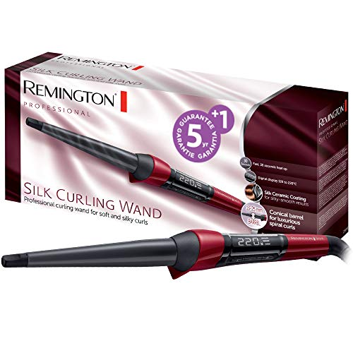 Remington Silk Curling Wand CI96W1 Arricciacapelli, Forma a Spirale