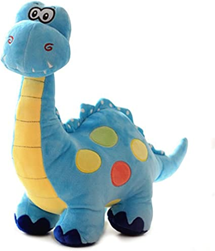 Gbell Cute Stuffed Dinosaur Plush Toys Kids Soft Dinosaur Plush Toy Emotional Companion Dolls Room Kawaii Pillow Decor Dino Stuffed Toys Gifts for Toddler Girls Boys Kids Adults,25CM
