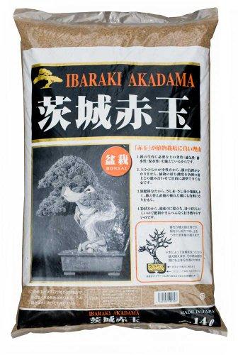 Carcasa rígida Ibaraki Akadama suelo Bonsai - 14 litros bolsa