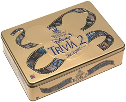The Wonderful World of Disney Trivia 2  The Sequel Game by Mattel
