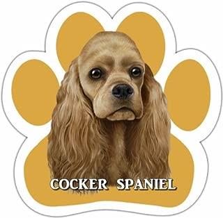 E&S Pets Cocker Spaniel 13125-78 Dog Car Magnet