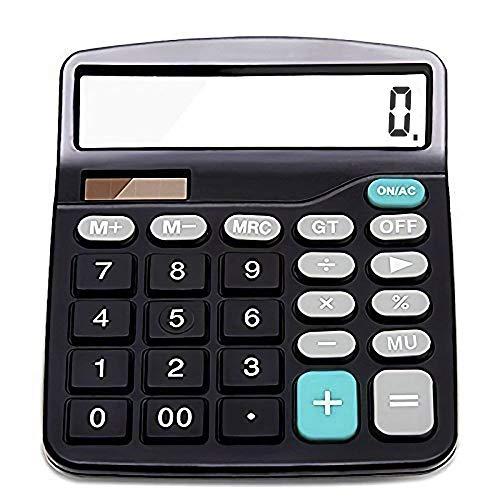 Taschenrechner Beste Geschenk für Studenten - Standard Taschenrechner Büromaterial, Solar Taschenrechner Briefpapier Geschenke, Mathematik Tischrechner Großer Tasten Großes Display