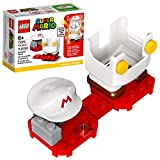 LEGO Super Mario Fire Mario Power-Up Pack 71370; Building Kit for Creative Kids to Power Up The Mario Figure in The Adventures with Mario Starter Course (71360) Playset, New 2020 (11 Pieces)