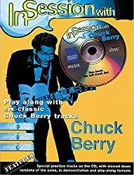 In session with chuck berry guitare+cd