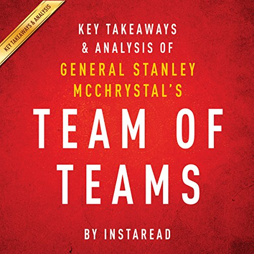 Team of Teams by General Stanley McChrystal audiobook cover art