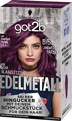 Got2b Edelmetall Amethyst Chrome Metallic M69 Stufe 3, 1er Pack (1 x 143 ml)
