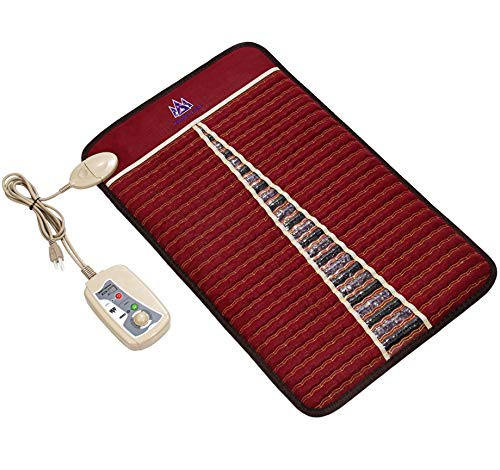 MediCrystal Far Infrared Mat - Negative Ions - FDA Registered Manufacturer (Mini 32'L x 20'W, Amethyst Tourmaline)