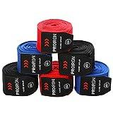 PROIRON Bende Boxe Muay Thai, Fasce Boxe Bendaggi per MMA Kick Boxing Pugilato Taekwondo Arti Marziali 2,5 Metri Coppia