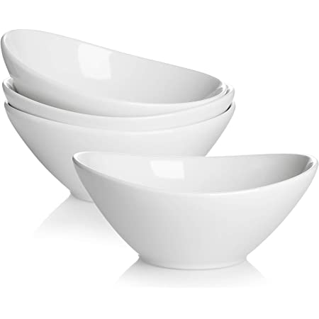 large porcelain bowl with geometric design for meal prep cooking or serving in gray and white perfect serveware and everyday use BOWL