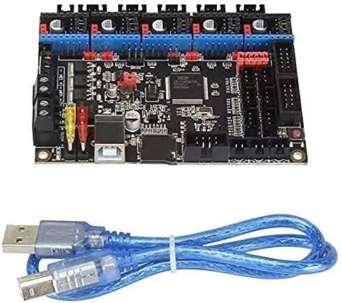Good Stability Printer Accessories 3D Printer Motherboard S-KR V3 32-Bit DIY Controller PCB Board Approval TMC2130 SPI TMC2208UART Mode Long Lasting