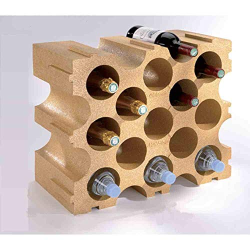 Mottez B229V Aufbewahrungsschrank für Flaschen, Flaschenregal, Weinregal, aus Styropor