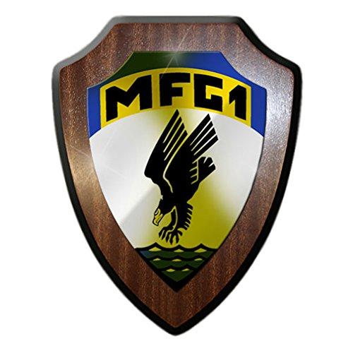 Wappenschild -MFG1 Marineflieger Geschwader Wappen Bundeswehr #14037