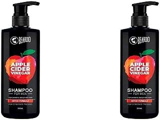 Pack of 2 Beardo Apple Cidar Vinegar Shampoo for Men-300ml