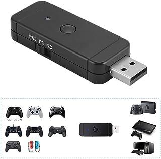Adaptateur sans fil de Manette pour Xbox / PS3 / PS4 / Nintendo controleur Adaptateur pour Nintendo Switch PS3 et Windows PC
