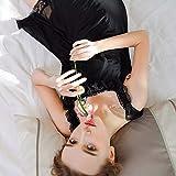Handaxian Sling Lange Nachthemd Dame süße süße große Größe Einkommen Spitze Frühling Damen Unterwäsche und Einkommen