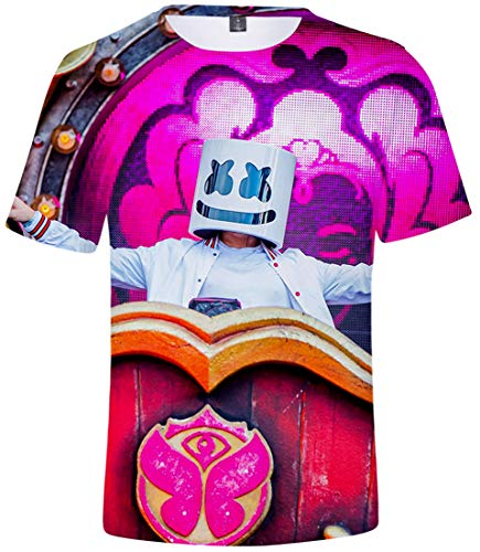 The Iron Giant Childrens 3D Summer Short Sleeve Printing T-Shirts