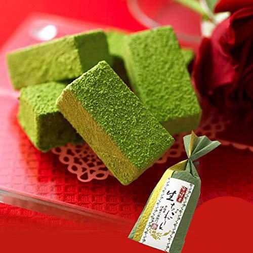 伊藤久右衛門 バレンタイン 宇治抹茶生チョコレート 5粒×20セット まとめ買い 義理 和紙ラッピング