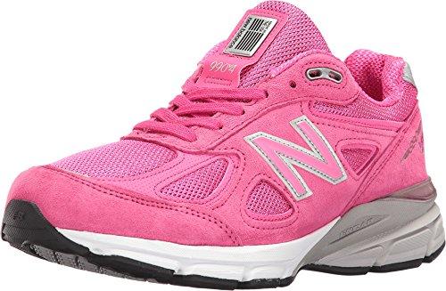 New Balance Women's W990V4 Sneaker, Pink/Purple, 3.5 UK