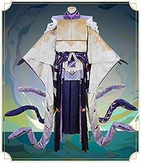 陰陽師 SSR式神 八岐大蛇(ヤマタノオロチ) 未覚醒 風 コスプレ衣装 仮装 イベント