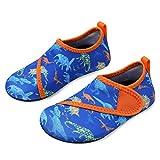 L-RUN Girls Boys Toddler Kids Water Shoes for Beach Swim Walking Blue 9.5-10=EU26-27