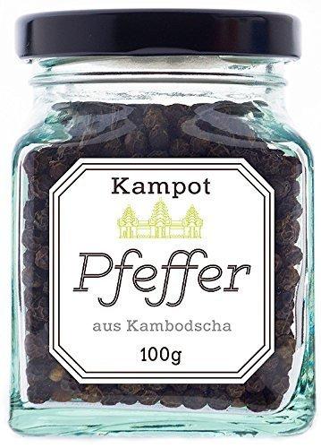 Schwarzer Kampot Pfeffer, 100 Gramm, legendär und unübertroffen im Geschmack