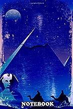 Notebook: El Desierto De Egipto Con Sus Piramides Y Camellos , Journal for Writing, College Ruled Size 6