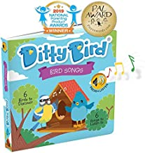 Interactive Bird Songs Book for Babies with Real-Life Sounds and a Rhyme. Interactive Musical Book for Toddlers. Educational Music Toys for 1 Year Old. Sound Books for one Year Old Boy Girl Gift