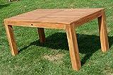 AS-S Wuchtiger Teak Bigfuss Gartentisch 180×90 Holztisch Teaktisch Garten Tisch Holz - 5