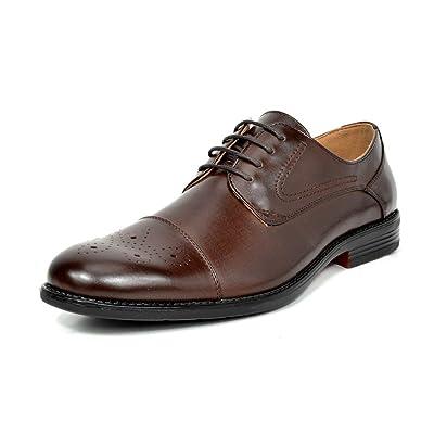Bruno Marc Men's Dress Oxfords Shoes (Various Sizes & Colors)