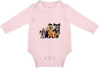Triangular Baby Jumpsuit Dragon Ball Z Ropa de Algodón Pelele