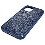 Swarovski Étui pour smartphone Glam Rock, iPhone® 12 Pro Max, Bleu