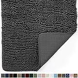 Gorilla Grip Original Indoor Durable Chenille Doormat, Large, 36x24, Absorbent, Machine Washable...
