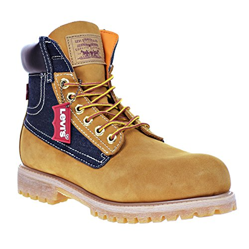 Levi's Harrison Men's Boots Buck Wheat/Denim 516435-11b (10.5 D(M) US)