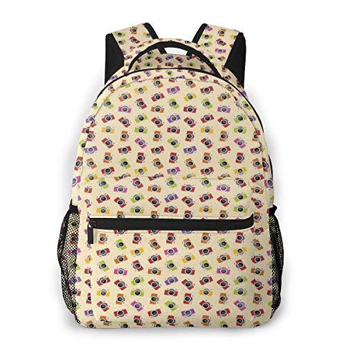 Laptop Rucksack Daypack Schulrucksack Backpack Fotokamera Bild, Business Taschen Freizeit Rucksack Arbeits Schultasche für Herren Männer Schüler Schule