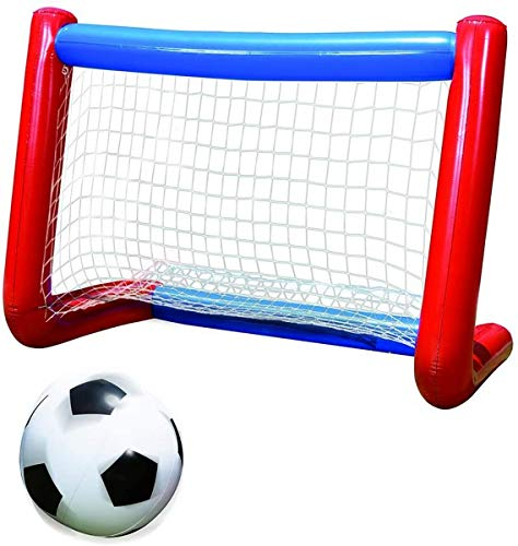 Banzai Mega All-Star Soccer Set - Inflatable Goal & Ball
