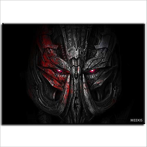 CELLYONE Kit de pintura digital para adultos, para pintura acrílica (Transformers: The Last Knight), decoración 50 x 40 cm