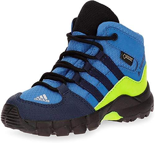 adidas Unisex-Kinder Terrex Mid GTX Trekking- & Wanderstiefel, Blau (Azretr/Maruni/Limsol 000), 26 EU