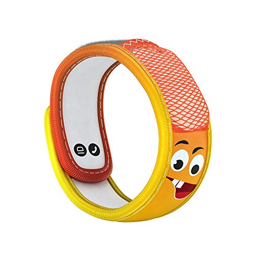 PARA'KITO Mosquito Insect & Bug Repellent Kids Wristband - Waterproof, Outdoor Pest Repeller Bracelet w/ Natural Essential Oils (Emotion)