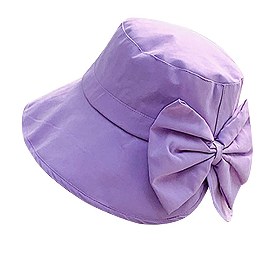 ささやきためらう起こる女性 帽子 レディース UVカット ハット女の子 つば広い 漁師帽 女優帽 小顔効果 紫外線 対策 レディース 蝶結び UV 加工 リボン ハット ビーチ 日よけ テント ビーチサンダル ベレー帽 ROSE ROMAN