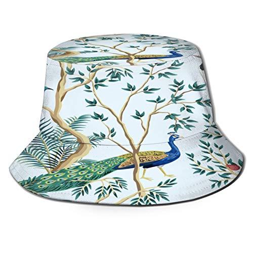 Yoliveya Cappello da Pesca,Albero da frutto Vintage Melograno da Giardino Esotico,per Cappello da Sole da Viaggio Canottaggio Cappello da Pesca Cappello da Pescatore