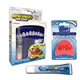 Complete Denture Repair Kit and Reliner Disk with Denture Cream Re-Liner reline