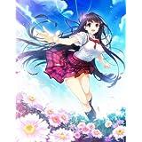 marui先生描き下ろし 『彼女と俺と恋人と。』美萩野綾乃 A1タペストリー【グッズ】