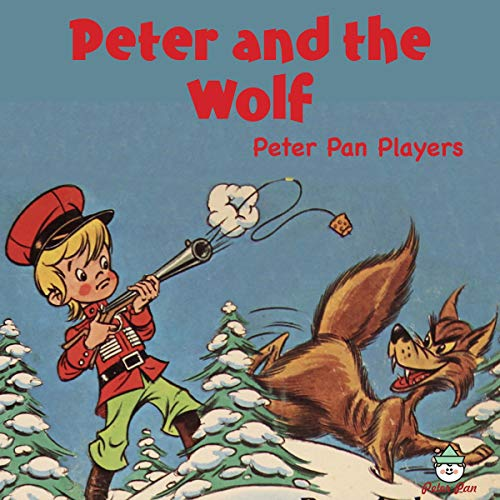 『Peter and the Wolf』のカバーアート