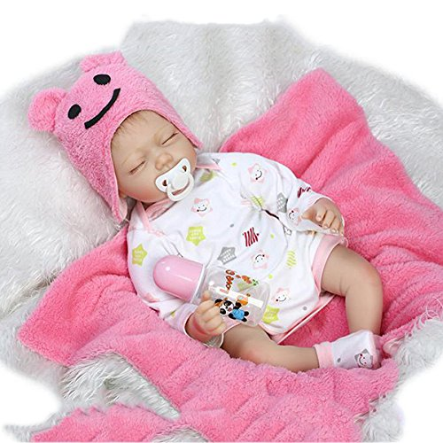 Check Out This GGGarden 22inch Twins Reborn Baby Doll Lifelike Boy Girl Play House Toy – A