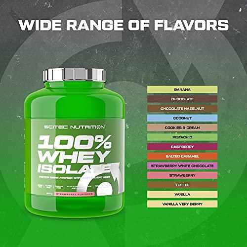 Scitec Nutrition Whey Isolate Schokolade, 1er Pack (1 x 2000 g) - 2