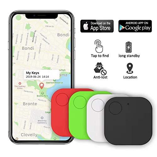Bluetooth Tracker Anti-Lost Schlüsselfinder Keyfinder Funk GPS Locator Orange