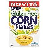 Cereales NESTL Corn Flakes - Copos de maz tostados - Paquete de cereales de 375g